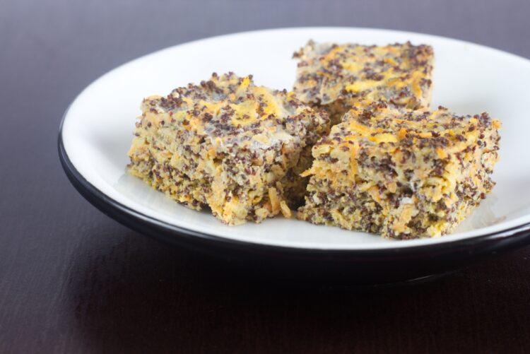 Mrkvovo-makový koláč (Paleo, GAPS)