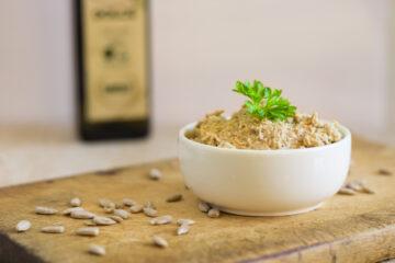 Pomazánka ze slunečnicových semínek (Paleo, Lowcarb, Keto, GAPS, Raw, Vegan)