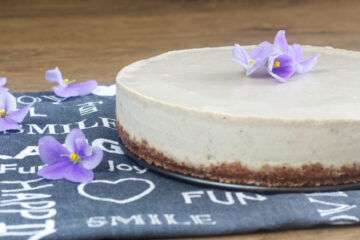 Raw banánový cheesecake (Paleo, Raw, Vegan)