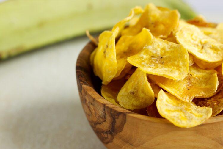 Plantainové chipsy (Paleo, Vegan)