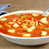 Aztécká kuřecí polévka (Paleo, Whole30, Lowcarb, Keto, GAPS)