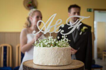 Svatební mrkvovo-kokosový dort (Paleo)
