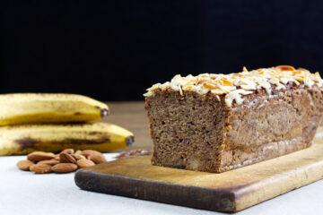 Banánový chlebíček (Paleo, Vegan)