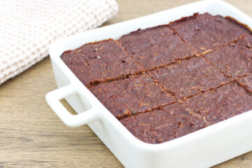 Cuketové brownies (Paleo, GAPS)