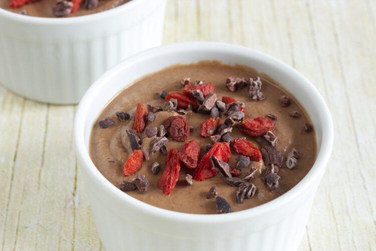 Čokoládový pudink z květáku (Paleo, Vegan, GAPS)