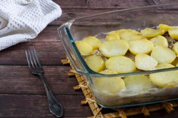 Pečená krkovice s bramborami a kokosovým mlékem (Whole30)
