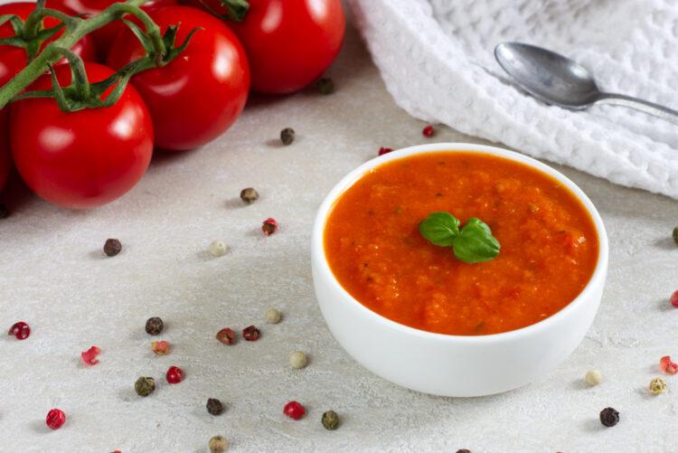 Polévka z pečených rajčat (Paleo, Lowcarb, GAPS, Vegan)