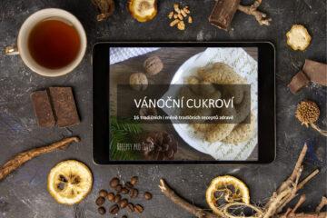 Paleo vánoční cukrové e-kuchařka