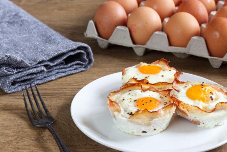 Snídaňové vajíčkové muffiny (Paleo, Whole30, Lowcarb, Keto, GAPS)