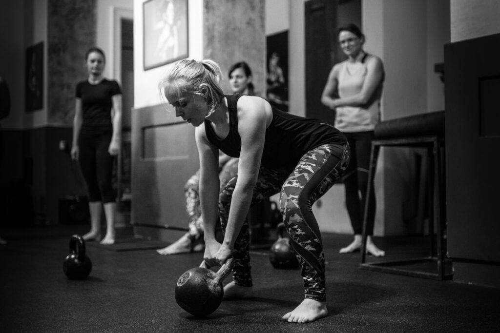 Funkční trénink, seminář Snatch 2019