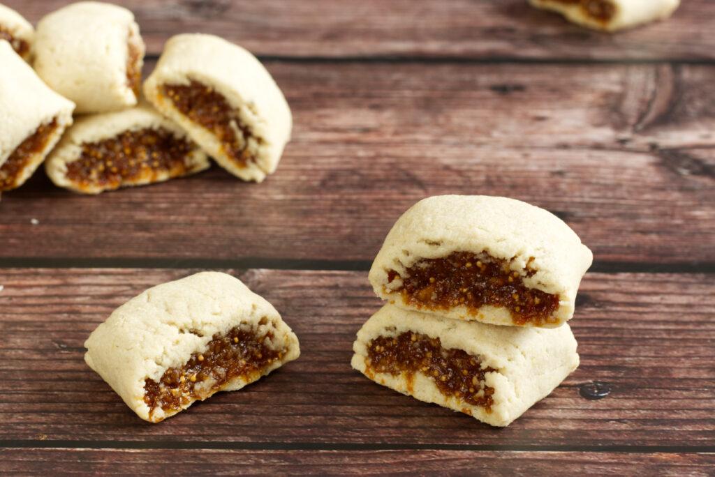 Fíkové sušenky Newtonky (paleo, bez lepku, bez mléka, bez cukru)