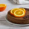 Raw čokoládovo-pomerančový dort (raw, vegan, paleo)