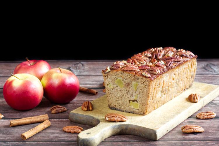 Paleo jablečný chlebíček